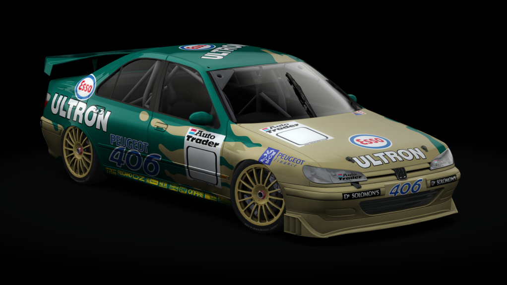 preview2 PM3DM Super Touring Cars for AC – Three New Previews