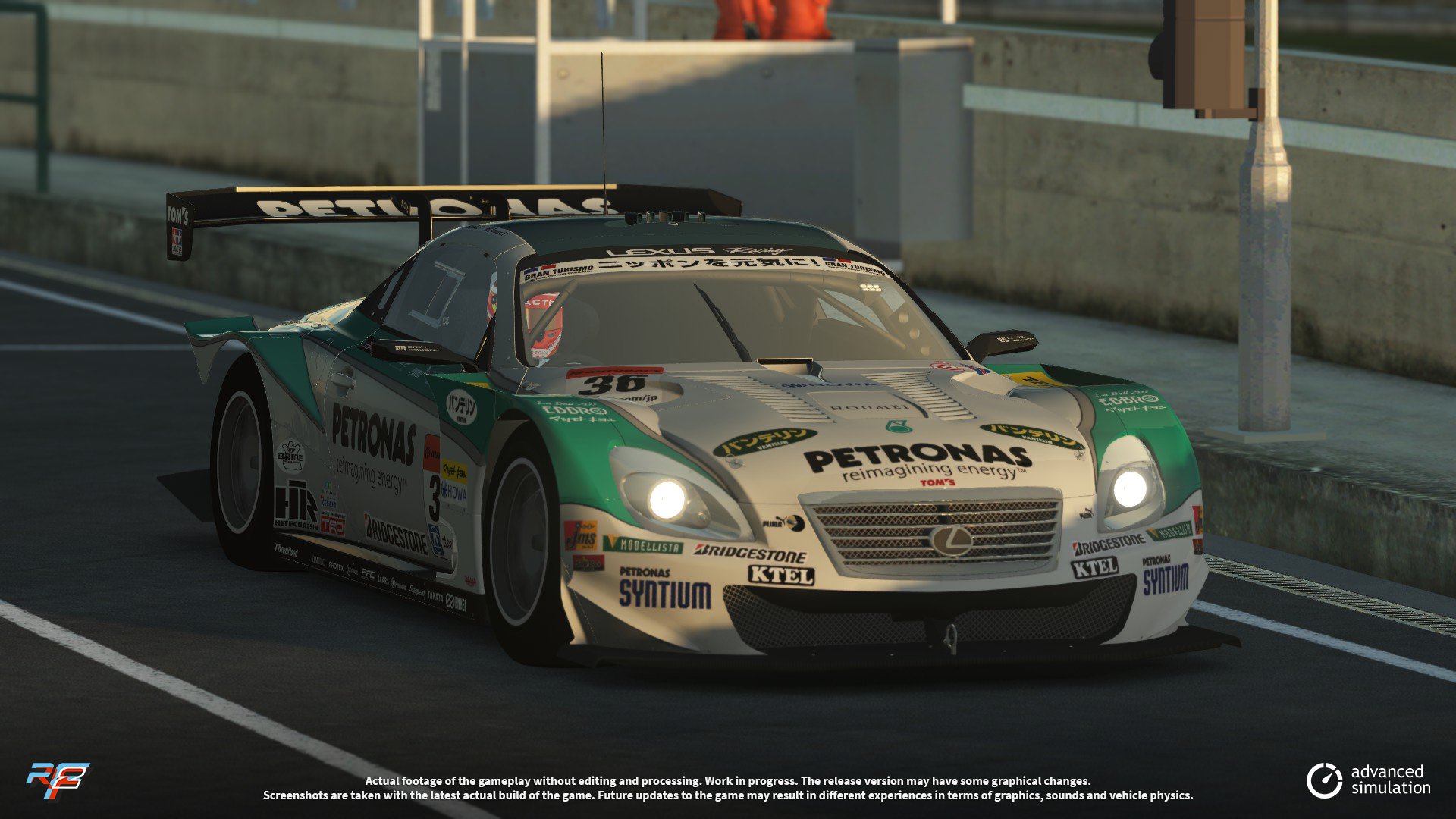 026 URD SuperGT 2013 for rFactor 2 – New Lexus Previews