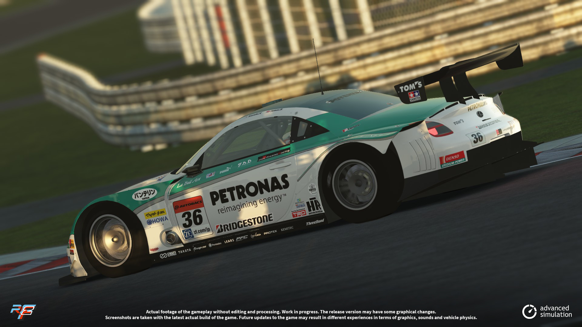 027 URD SuperGT 2013 for rFactor 2 – New Lexus Previews