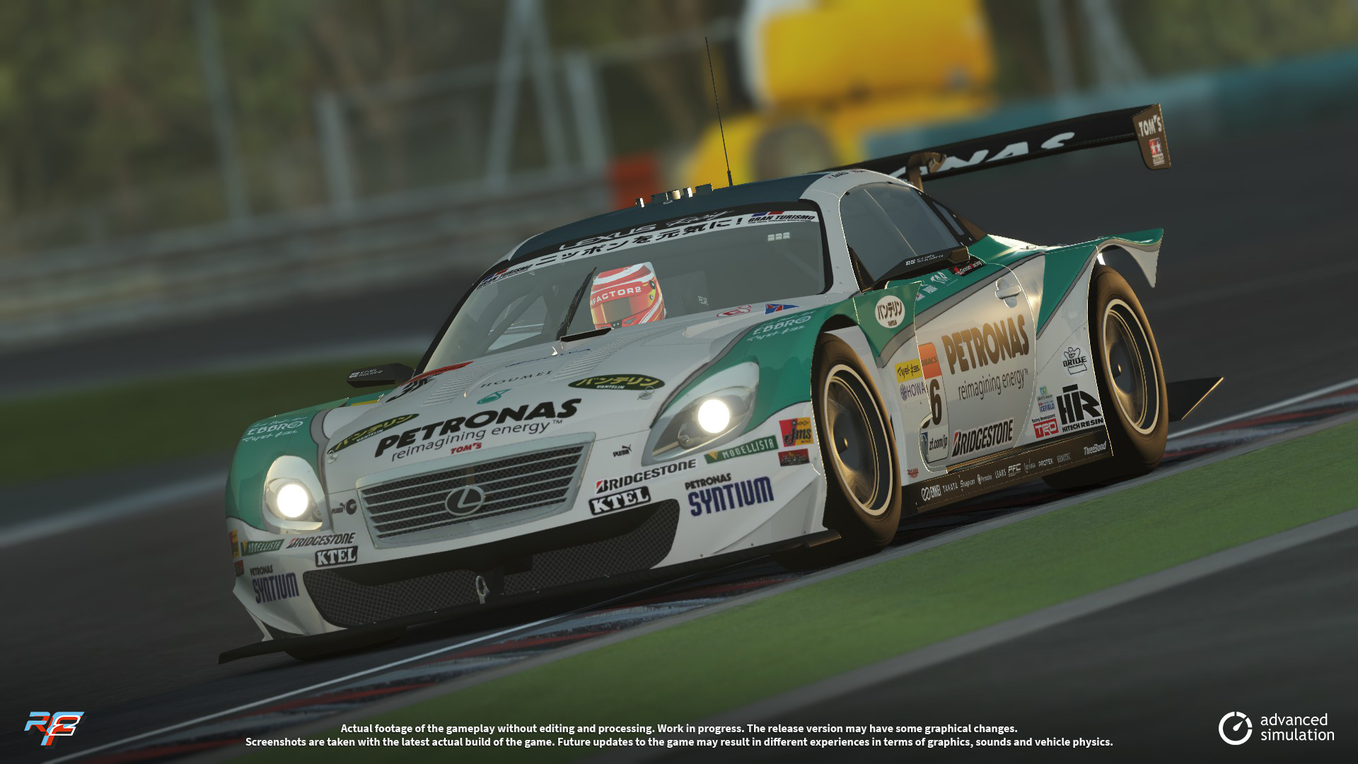 028 URD SuperGT 2013 for rFactor 2 – New Lexus Previews