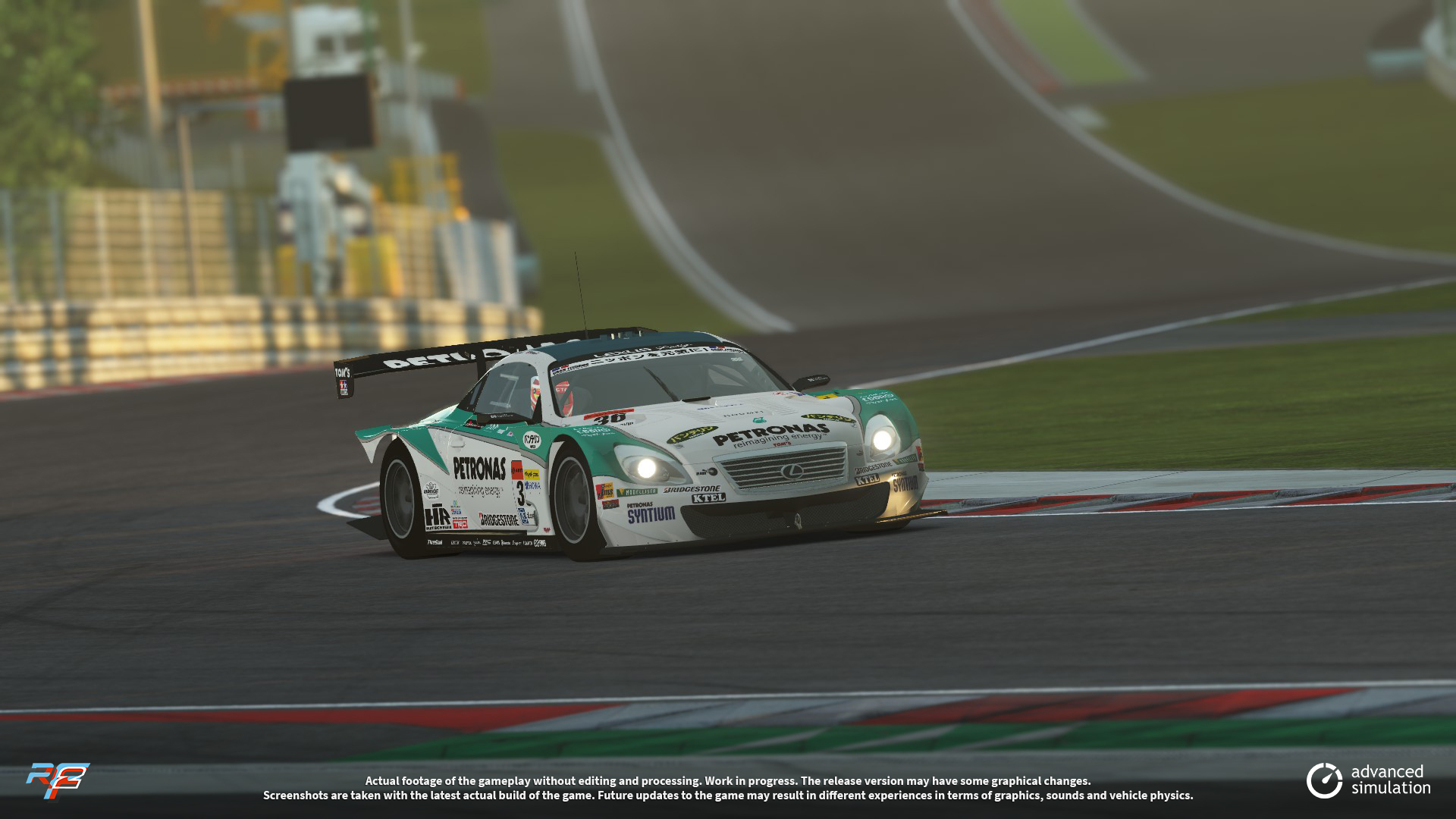 029 URD SuperGT 2013 for rFactor 2 – New Lexus Previews
