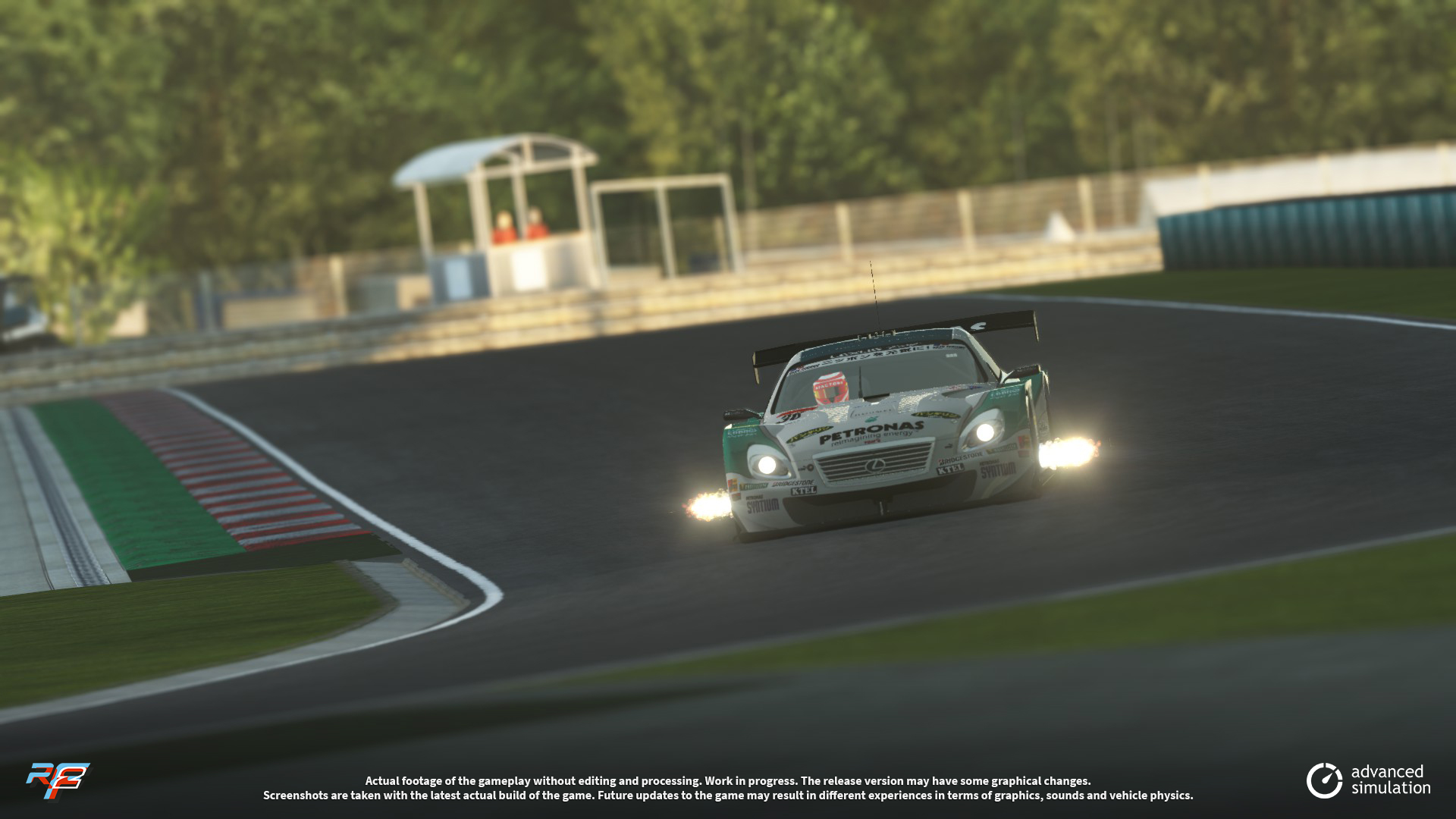 030 URD SuperGT 2013 for rFactor 2 – New Lexus Previews