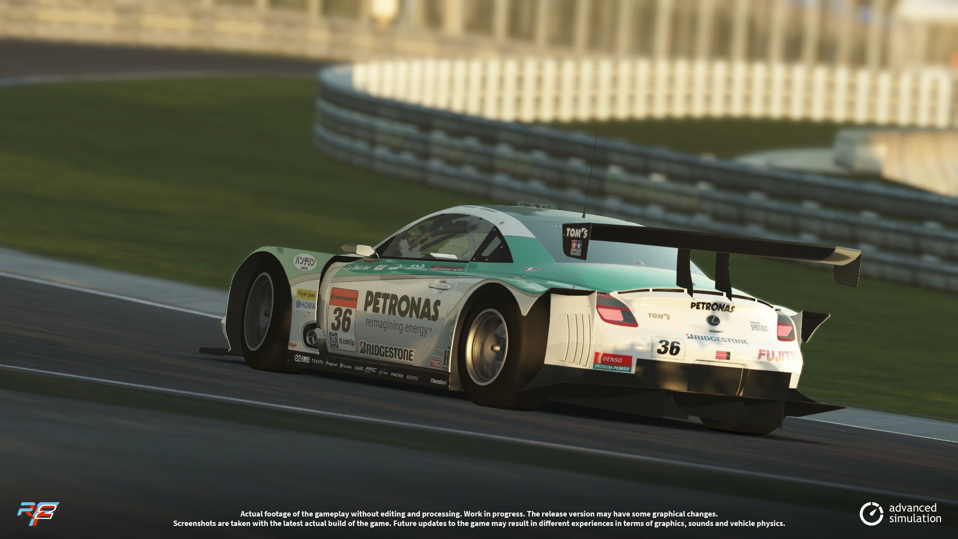 031 URD SuperGT 2013 for rFactor 2 – New Lexus Previews