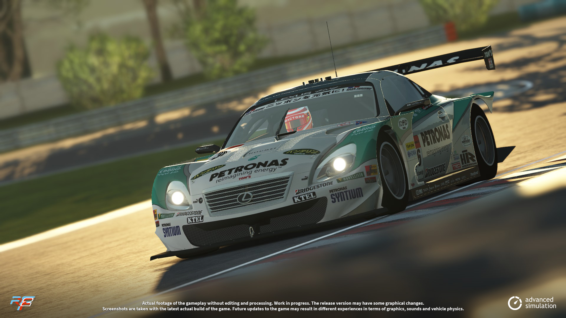 032 URD SuperGT 2013 for rFactor 2 – New Lexus Previews