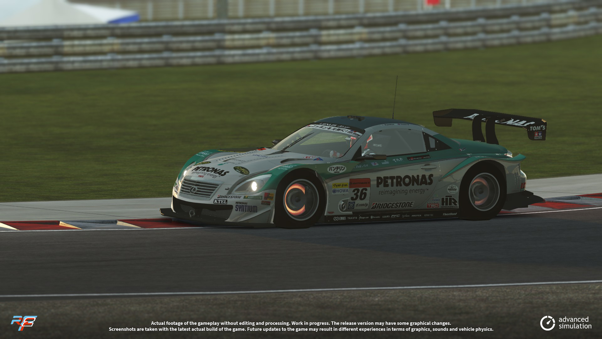 033 URD SuperGT 2013 for rFactor 2 – New Lexus Previews