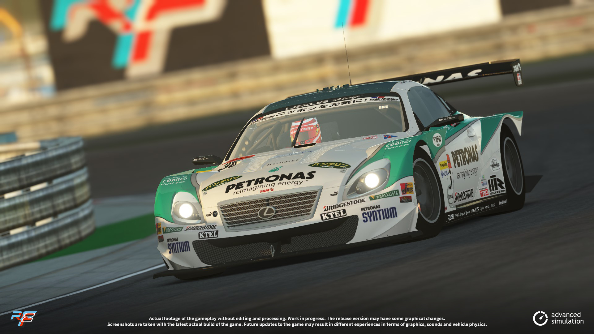 036-1 URD SuperGT 2013 for rFactor 2 – New Lexus Previews