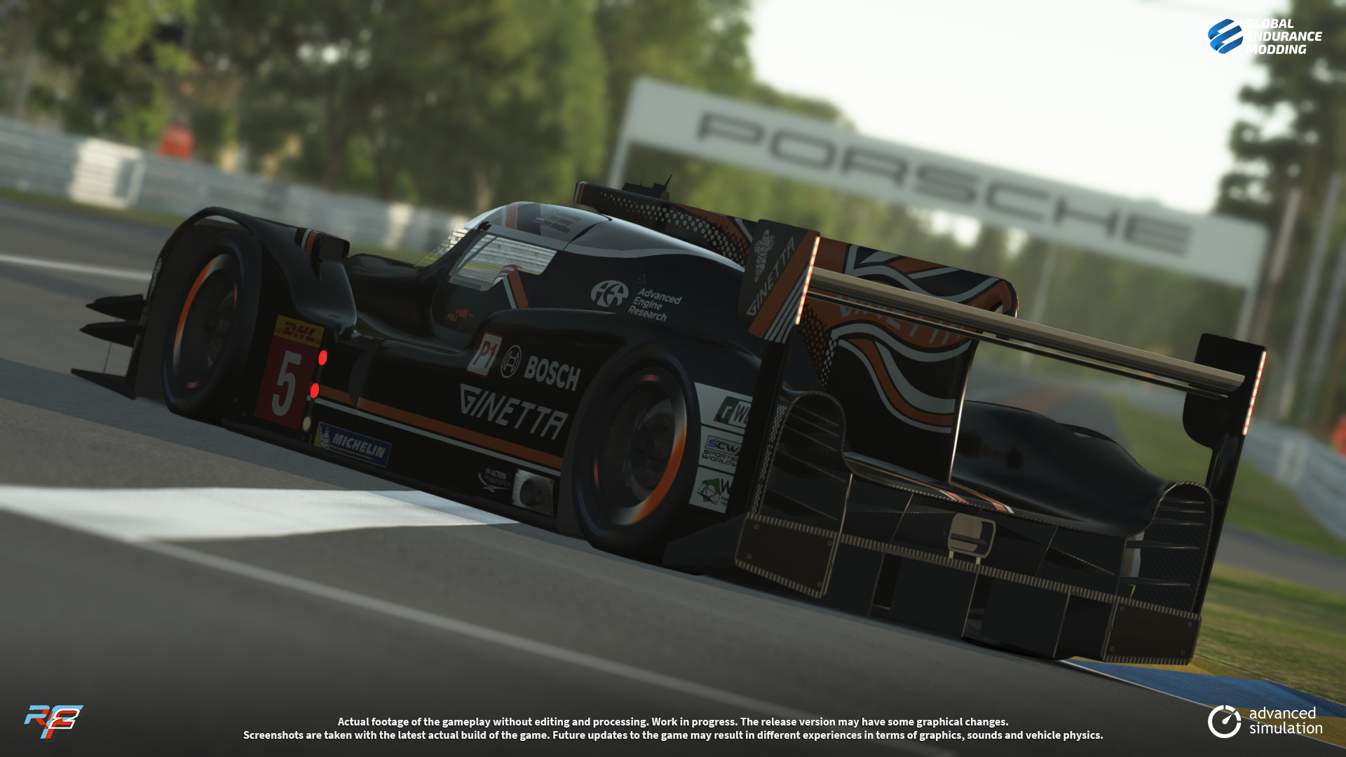 screen-010 Ginetta G60-LT-P1 LMP1 for rFactor 2 – More Previews