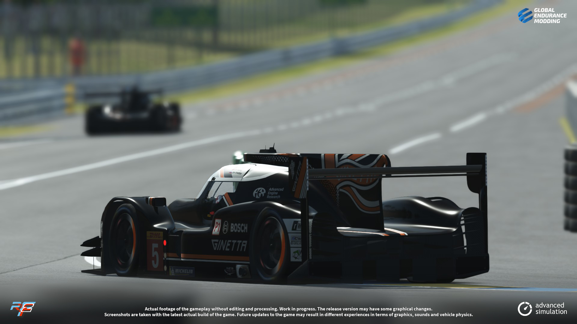 screen-013 Ginetta G60-LT-P1 LMP1 for rFactor 2 – More Previews