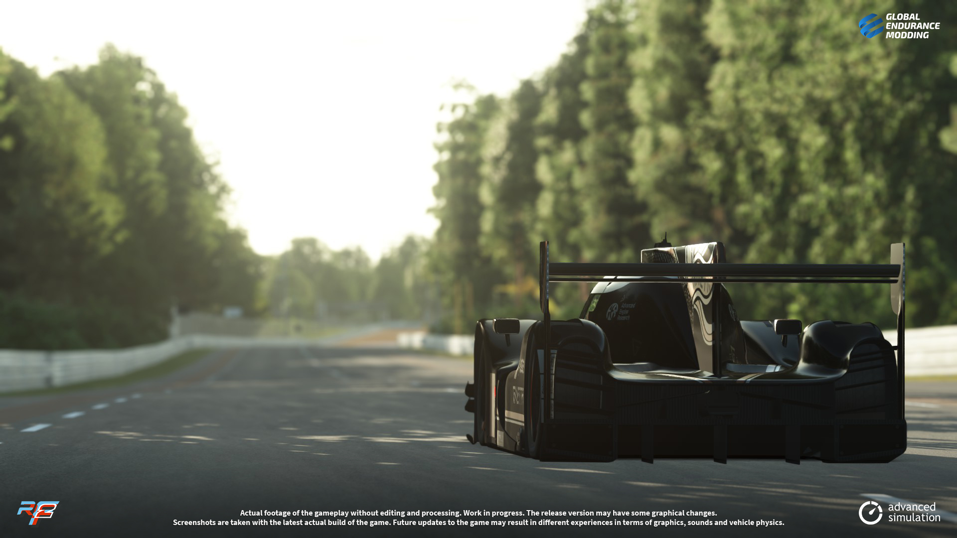 screen-016 Ginetta G60-LT-P1 LMP1 for rFactor 2 – More Previews
